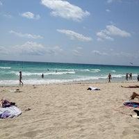 Photo taken at 2nd Street Beach by Gaetano E. on 5/25/2013