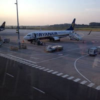 Photo taken at Brussels South Charleroi Airport (CRL) by Rémy M. on 7/22/2013