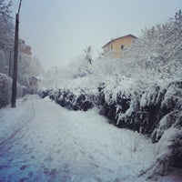 Photo taken at Parco Di Via Arcobaleno by francesca f. on 2/22/2013