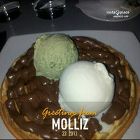 Photo taken at Molliz by lou d. on 1/23/2013