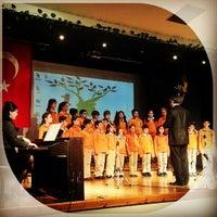 Photo taken at Sarıyer Doğa Koleji by Gökhan Faruk Ü. on 1/23/2013