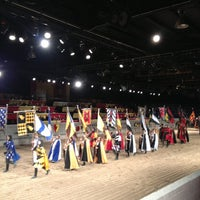Photo taken at Medieval Times by Kristen H. on 3/15/2013