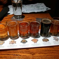 Photo taken at Rock Bottom Restaurant & Brewery by Sheppy on 10/19/2013