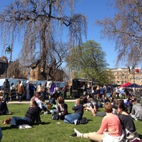 Photo taken at Camberwell Green by Ana G. on 4/20/2013