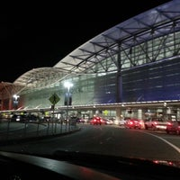 Photo taken at San Francisco International Airport (SFO) by Ashley B. on 7/3/2013