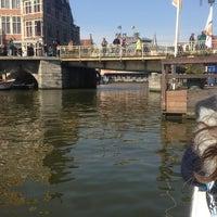 Photo taken at De Bootjes van Gent   Rederij Dewaele by Sophie C. on 4/1/2013