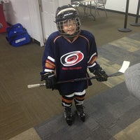 Photo taken at Raleigh Center Ice by Adam S. on 3/17/2013