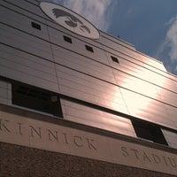 Photo taken at Kinnick Stadium by Michael W. on 9/9/2013