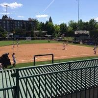 Photo taken at Howe Field by Matthew A. on 5/16/2014