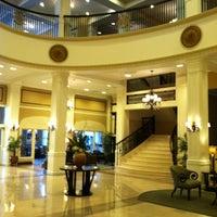 Photo taken at King Edward Hotel (Hilton Garden Inn Jackson) by Elaine R. on 11/8/2012