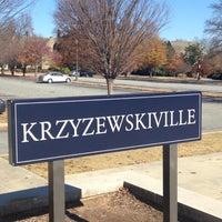 Photo taken at Krzyzewskiville by Caroline I. on 11/22/2012
