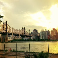 Photo taken at Queensbridge Park by Jared S. on 6/3/2013