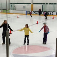 Photo taken at Ice Centre at the Promenade by Gina W. on 11/10/2012