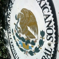 Photo taken at Consulado Geral do México by Leonardo P. on 12/10/2012