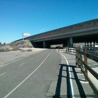Photo taken at Santa Clarita Bike Trail by Aeson on 2/16/2014