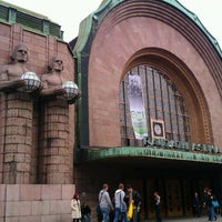 Photo taken at VR Helsinki Central railway station by Андрей Д. on 9/29/2012