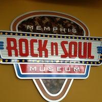 Photo taken at Rock'n'Soul Museum by Jason M. on 5/27/2013