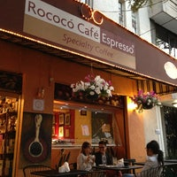 Photo taken at Rococó Café Espresso by Aquiles G. on 4/11/2013