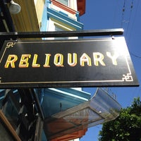 Photo taken at Reliquary by Sarah B. on 9/7/2013