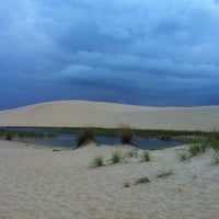 Photo taken at Jockey's Ridge State Park by Jennie D. on 9/17/2012