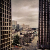 Photo taken at Hilton Seattle by Kieran H. on 2/24/2013