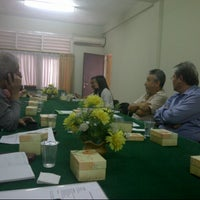 Photo taken at Universitas Katolik Parahyangan (UNPAR) by Jeannette L. on 9/15/2012