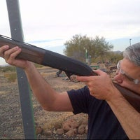 Photo taken at Ben Avery Sporting Clay by Mark A. on 12/6/2012