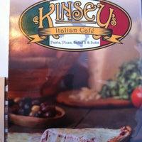 Photo taken at Kinsey's Italian Café by Josh M. on 7/13/2013