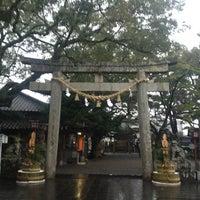 Photo taken at 八坂神社 by きなこ・x・ on 1/13/2013