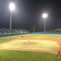 Photo taken at Stadio Baseball by Alessandro P. on 4/13/2013