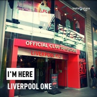 Photo taken at Liverpool FC Official Club Store by Helmie Z. on 4/22/2013
