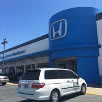 Photo taken at Findlay Honda by Jennifer S. on 8/14/2016