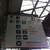 Photo taken at Cork Kent Railway Station by Rama Pamela Z. on 7/24/2013