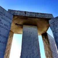 Photo taken at Georgia Guidestones by AJC on 2/19/2015