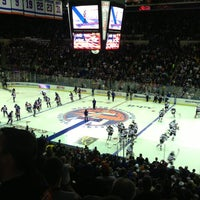 Photo taken at Nassau Veterans Memorial Coliseum by Eddie R. on 1/20/2013