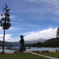 Photo taken at Redfish Lake Lodge by Don K. on 6/19/2013