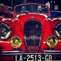 Photo taken at Museo del Automóvil by Cecy on 4/28/2013