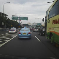 Photo taken at Jalan Tol Jakarta - Cikampek by Bambang G. on 3/7/2015