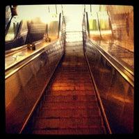 Photo taken at metro Ulitsa Akademika Yangelya by ArbatChild on 2/3/2013