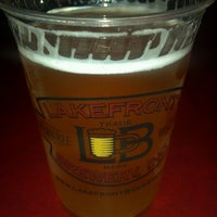 Photo taken at Lakefront Brewery by Peggy K. on 4/14/2013