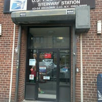 Photo taken at US Post Office - Steinway Station by Angeline on 8/1/2016