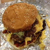 Photo taken at Five Guys by Tyler C. on 7/21/2013