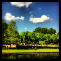 Photo taken at Erasmuspark by Martijn K. on 6/12/2013