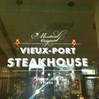 Photo taken at Vieux-Port Steakhouse by Taniis S. on 7/16/2013