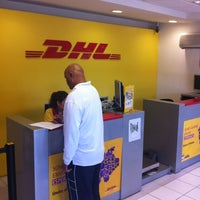 Photo taken at DHL Express by Miguel T. on 11/3/2012