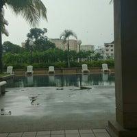 Photo taken at Symphony Park Swimming Pool by Zass X. on 4/30/2013