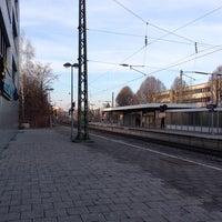 Photo taken at Giesinger Bahnhofsplatz by Stefan K. on 1/12/2014