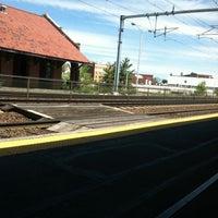 Photo taken at MBTA Attleboro Station by Ashley M. on 5/16/2013