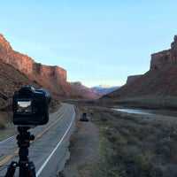 Photo taken at City of Moab by Tyler H. on 3/21/2016