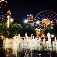 Photo taken at Centennial Olympic Park by Jonathan L. on 7/12/2013